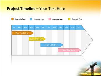 Construção Guindaste Modelos de apresentações PowerPoint - Slide 5