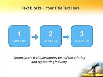 Construção Guindaste Modelos de apresentações PowerPoint - Slide 51