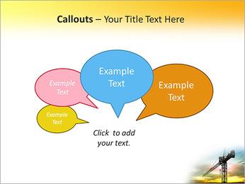 Construção Guindaste Modelos de apresentações PowerPoint - Slide 53