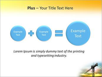 Construção Guindaste Modelos de apresentações PowerPoint - Slide 55