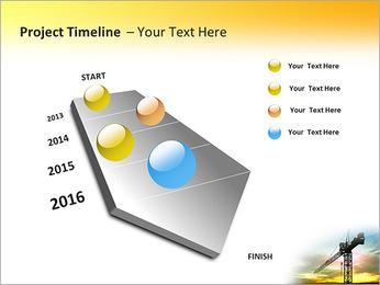 Construção Guindaste Modelos de apresentações PowerPoint - Slide 6