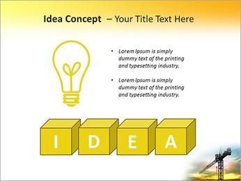 Construção Guindaste Modelos de apresentações PowerPoint - Slide 60