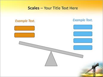 Construção Guindaste Modelos de apresentações PowerPoint - Slide 69