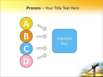 Construção Guindaste Modelos de apresentações PowerPoint - Slide 74