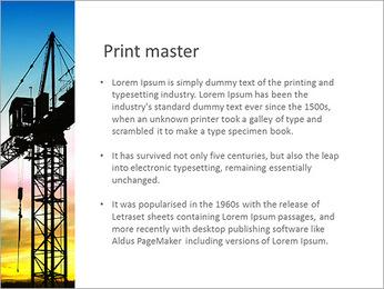 Construção Guindaste Modelos de apresentações PowerPoint - Slide 76