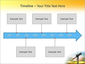 Construção Guindaste Modelos de apresentações PowerPoint - Slide 8
