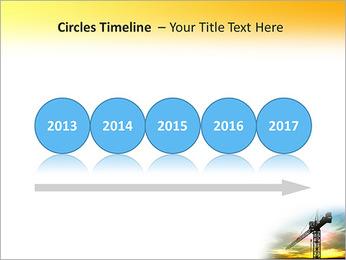 Construção Guindaste Modelos de apresentações PowerPoint - Slide 9