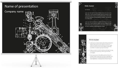 Schéma du Mécanisme Modèles des présentations  PowerPoint