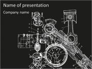Mechanismus Schema PowerPoint-Vorlagen