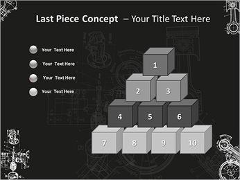 Schéma du Mécanisme Modèles des présentations  PowerPoint - Diapositives 11