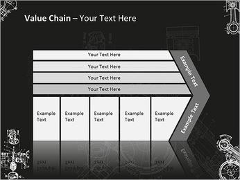 Schéma du Mécanisme Modèles des présentations  PowerPoint - Diapositives 7