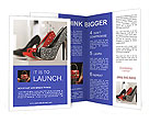 Fashionable Shoes Brochure Templates