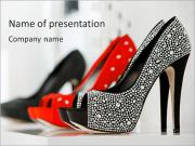 Fashionable Shoes PowerPoint Templates