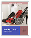 Fashionable Shoes Word Templates