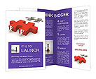 Missing Puzzle Part Brochure Template