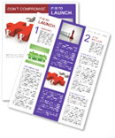 Missing Puzzle Part Newsletter Template