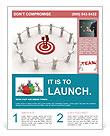 Team Target Flyer Template