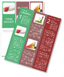 Red Chart Part Newsletter Templates