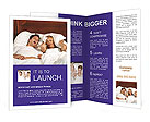 Man Snoring Brochure Templates