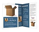 Cardboard Box Brochure Templates