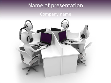 Internet Cafe PowerPoint Template, Backgrounds & Google Slides - ID ...