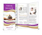 Man Relaxing Brochure Templates