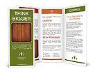 Wooden Design Brochure Templates