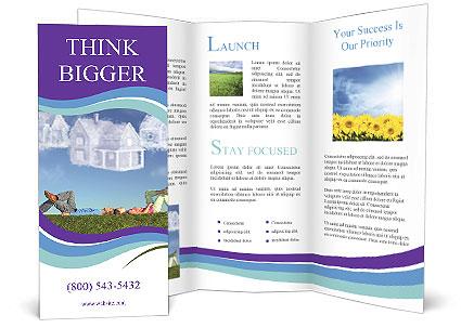 Dream House Brochure Template Design ID - House brochure template