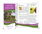 Apples On Tree Brochure Templates