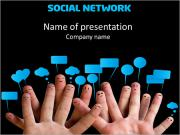 Social Net PowerPoint Templates