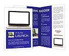 New Laptop Model Brochure Templates
