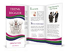 Shaking Hand Brochure Templates