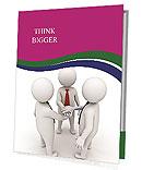 Shaking Hand Presentation Folder
