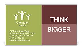 Job interview business card template design id 0000005559 job interview business card template colourmoves