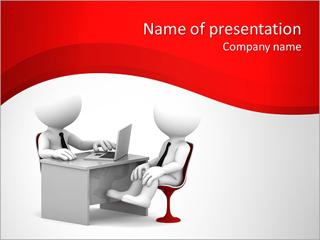 Job interview powerpoint template smiletemplates job interview powerpoint templates toneelgroepblik Images