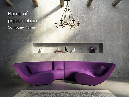 Interior design powerpoint template backgrounds id 0000005571 interior design powerpoint templates toneelgroepblik Image collections