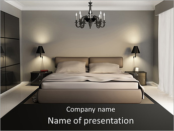 Modern Bedroom PowerPoint Template