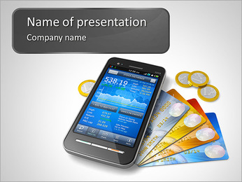 New Cell Phone PowerPoint Template