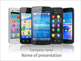 Elección del teléfono celular Plantillas de Presentaciones PowerPoint