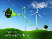 Save Energy Campaign PowerPoint Templates