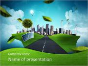 Eco City PowerPoint šablony