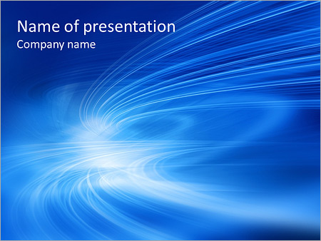 Blue abstract waves powerpoint template backgrounds id blue abstract waves powerpoint templates toneelgroepblik Gallery