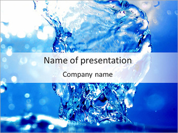 Liquid PowerPoint Template