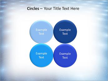 Bleu Pannel Modèles des présentations  PowerPoint - Diapositives 18