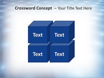 Bleu Pannel Modèles des présentations  PowerPoint - Diapositives 19