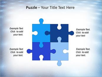 Bleu Pannel Modèles des présentations  PowerPoint - Diapositives 23