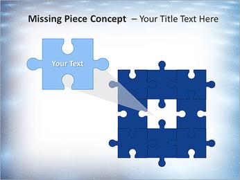 Bleu Pannel Modèles des présentations  PowerPoint - Diapositives 25