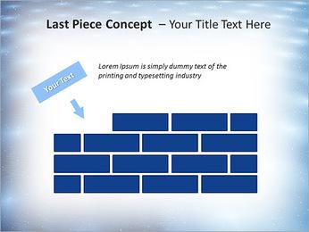 Bleu Pannel Modèles des présentations  PowerPoint - Diapositives 26