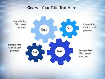 Bleu Pannel Modèles des présentations  PowerPoint - Diapositives 27