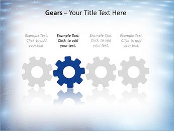 Bleu Pannel Modèles des présentations  PowerPoint - Diapositives 28